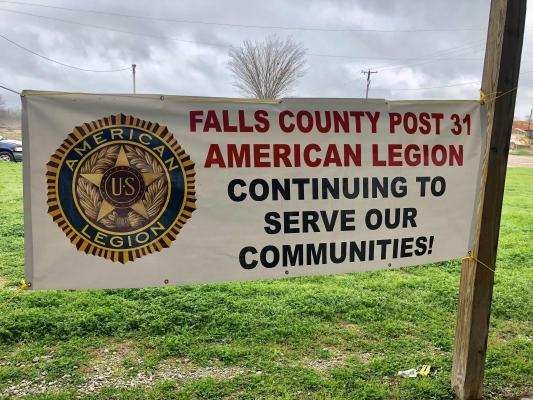 The Falls County Post 31 American Legion