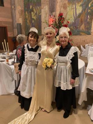 The Palace Theater in Marlin held a Inspired by Downton Abbey Style Show, which took place on Saturday, Feb. 29, in celebration of the 95th anniversary of the magnificent venue.