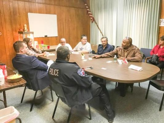 """Renee Swann, who is running for Texas' 17th Congressional District, made an appearance in Marlin on Tuesday, Feb. 4. She met with city officials and local business owners at the Marlin Chamber of Commerce and later held a """"meet and greet"""" for the citizens of Falls County at Lakeview Drive-In."""