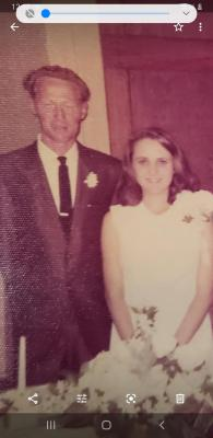 Sandy and Kenneth Bell will be celebrating their 50th Wedding anniversary on April 3