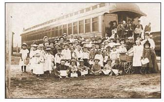 National Orphan Train. The last train went to Sulphur Springs, Texas in 1929.          CONTRIBUTED PHOTO.