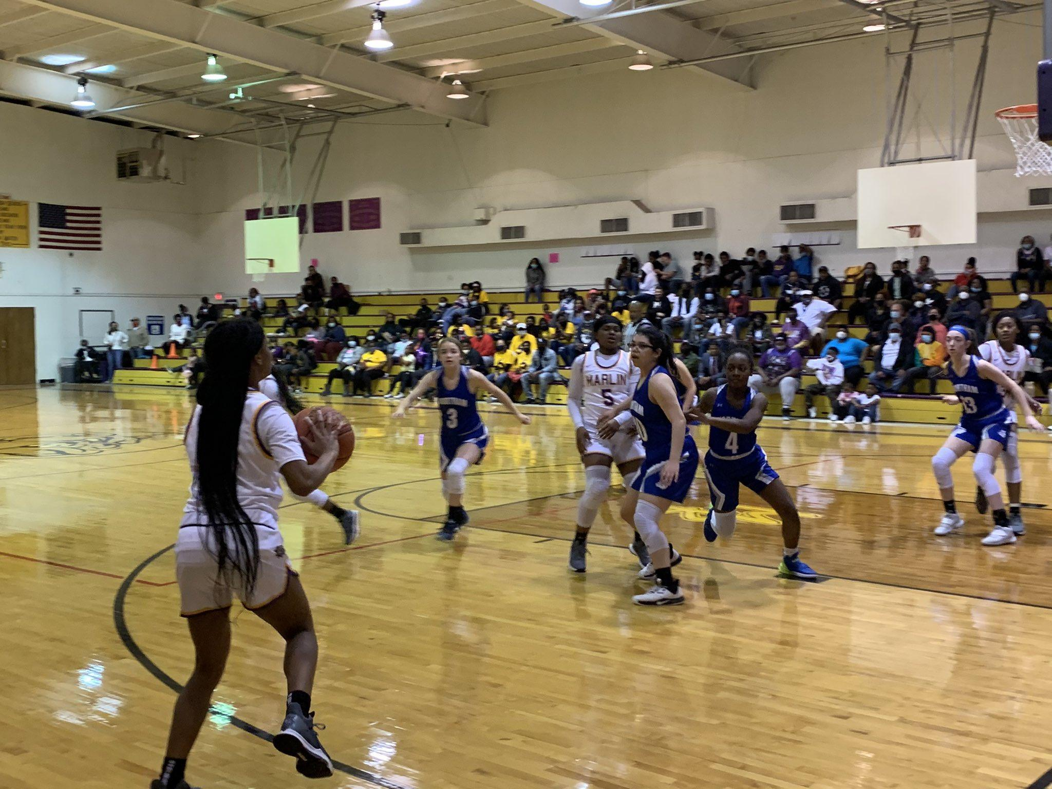 The Lady Bulldogs took on Wortham on Tuesday, February 2, where they bounced Wortham, scoring 66 points to Wortham's four.