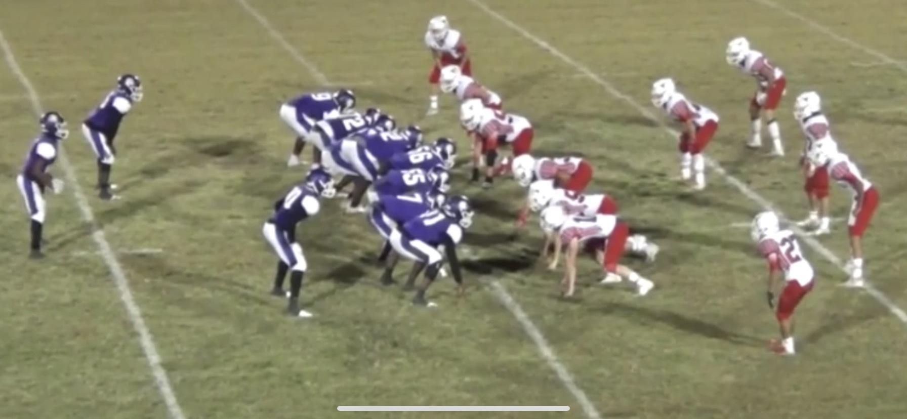 The Marlin Bulldogs won Friday's home district game against the Axtell Longhorns with a score of 62-24.