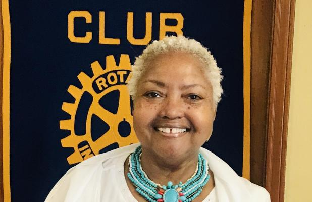 Maggie Majors, Marlin's Newest Rotarian