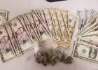 Falls County Sheriff's Deputies recovered $600 in cash and some marijuana during the execution of an search warrant on Jan. 31.